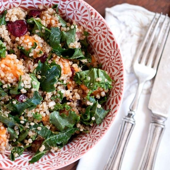 Sweet Potato Quinoa Salad | Yummies | Pinterest