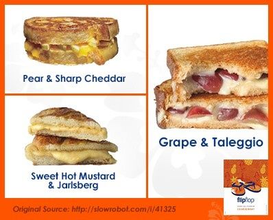 grilled cheeses