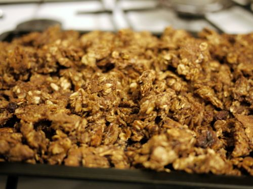CRUNCHY GRANOLA | Recipes | Pinterest