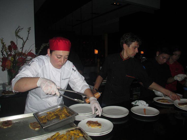 plate: Chicken Scaloppine with Prosciutto di Parma and Sage, Marsala ...