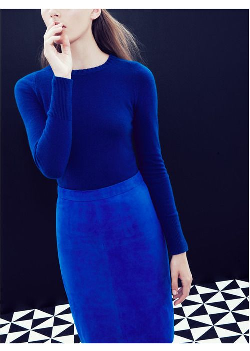 IKB: International Klein Blue was patented by Yves Klein in 1961 via jcrew #Blue    http://pinterest.com/treypeezy  http://twitter.com/TreyPeezy  http://instagram.com/OceanviewBLVD  http://OceanviewBLVD.com