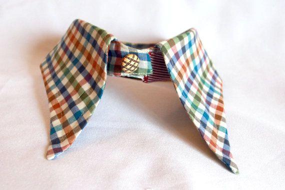 Dog collar dog accessories dog fashion recycled fashion eco fashi