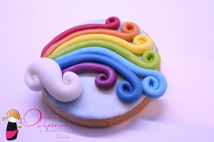 rainbow cookie | CUPCAKES!! | Pinterest