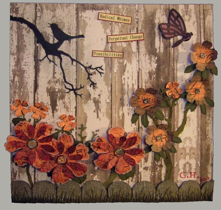 Tattered Floral Challenge