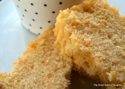 Orange Scented Sweet Potato Pound Cake (not a lot of sweet potato in ...