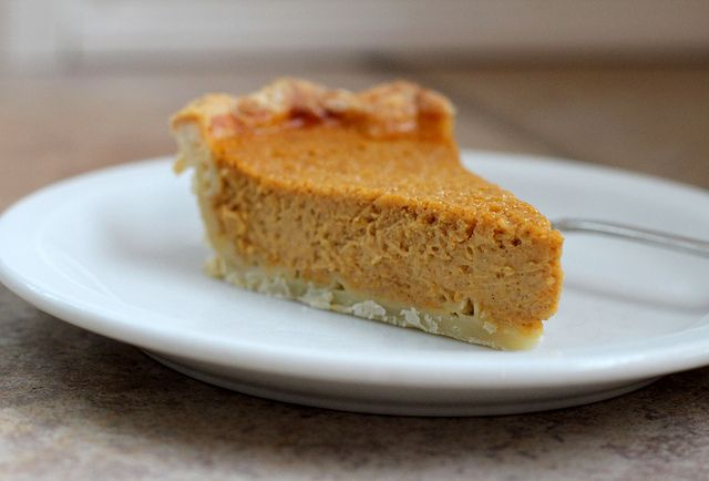 Butternut Squash Pie, from The Movable Feasts