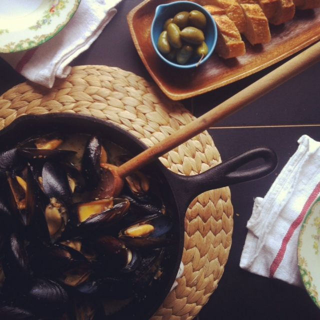 Fore Street Mussels from Portland, Maine | Food and Drink | Pinterest