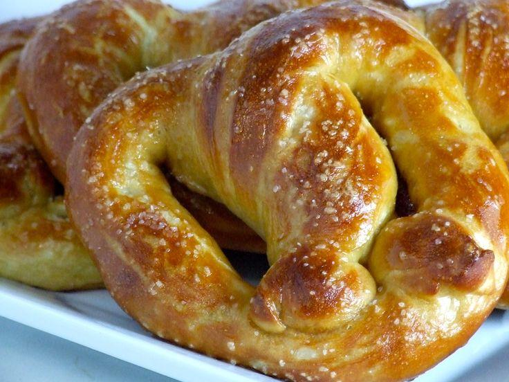 homemade soft pretzels. food. snacks. | Favorite Recipes | Pinterest