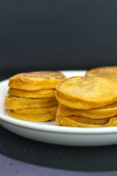 Silver Dollar Pumpkin Pancakes | Foodish | Pinterest