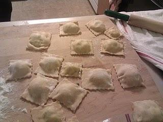 ... kale and ricotta rolls sweet ravioli just not a big kale fan kale