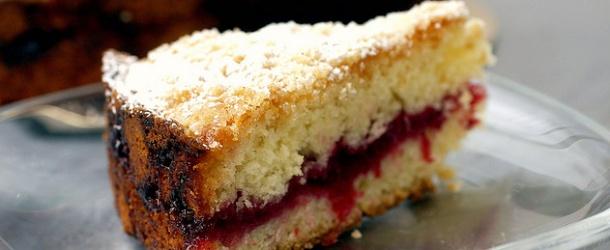 Cranberry vanilla coffeecake   Food   Pinterest