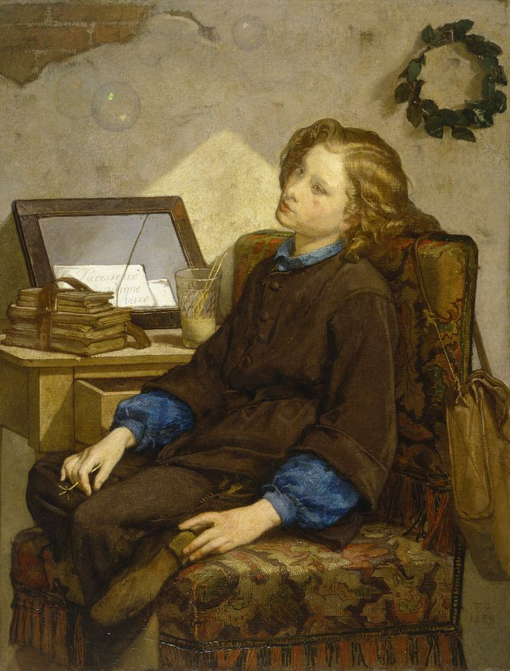 Thomas Couture - Daydreams [1859]