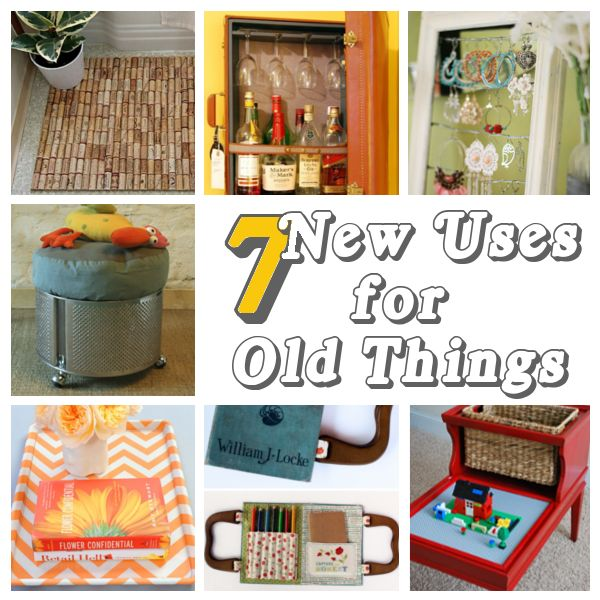 7 new uses for old things re use pinterest - New uses for old things ...