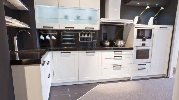 Zwart Witte Keuken : zwart witte keuken Kitchen Pinterest
