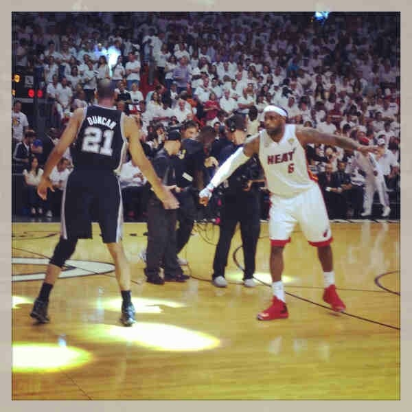 nba finals 2013 game 6 play by play