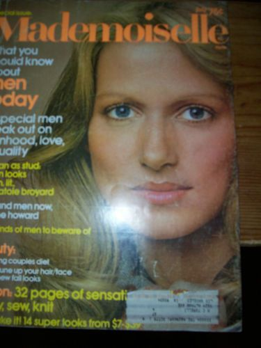 July 1974 Mademoiselle Vintage Womens Fashion Magazine