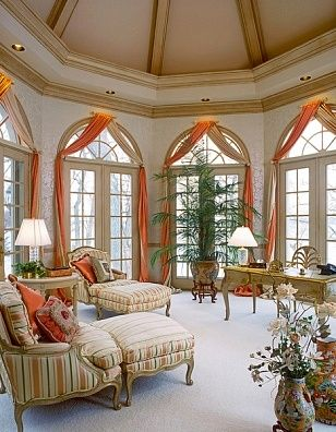 Simple yet elegant window treatments room interiordesign Elegant window treatment ideas