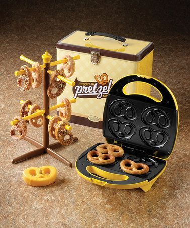Soft Pretzel Baker Set from Nostalgia Electrics on #zulily