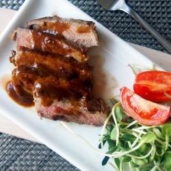 Orange miso steak recipe and http://winewizard.co.za/wine/pinotage/red ...