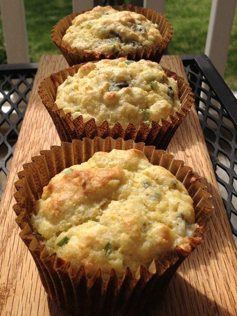 Cornmeal Buttermilk Muffins: make them sweet or savory !!