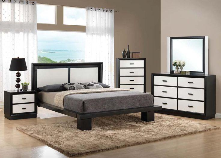 Debora Bedroom Set ONLY Includes Queen Bed 2 Night Stands