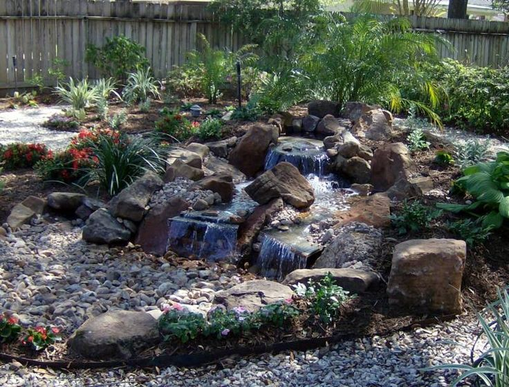 How to build a pondless water feature pictures to pin on pinterest - Pond Less Waterfalls Gardening Pinterest