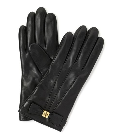 Tory burch bow gloves - how lady like and chic