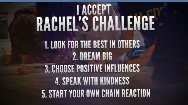 """Columbine survivor inspires Raleigh County through """"Rachel's Challenge"""""""
