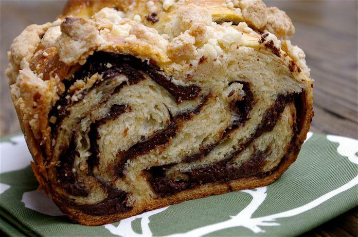 Easy Chocolate Babka Cake Recipe