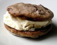 Chocolate Espresso Ice Cream Sandwiches | Food | Pinterest