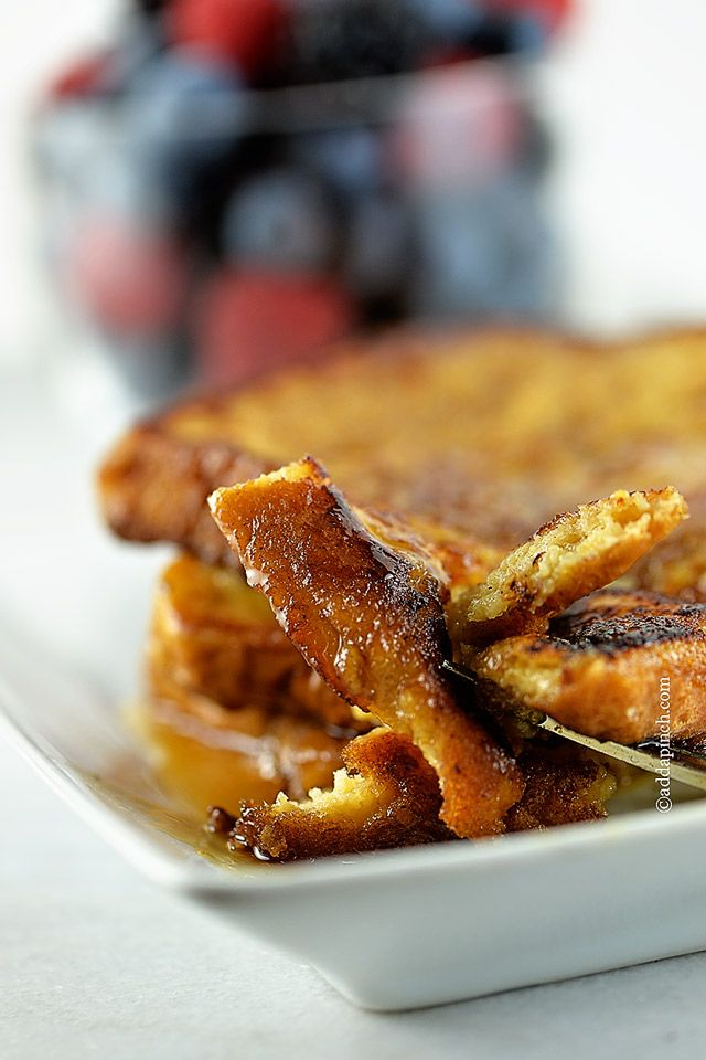Perfect French Toast Recipe - Cooking | Add a Pinch