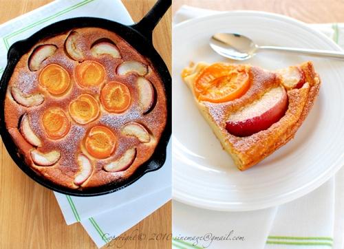 Apricot & Peach Clafoutis | Martha Stewart | Pinterest