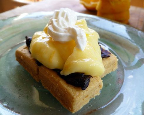 Meyer Lemon Tart. So sinful, I know...but, AHHH...who can resist the ...