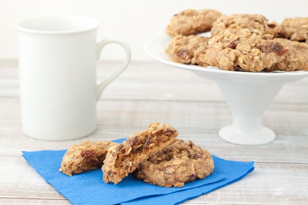 Chewy Oatmeal Raisin Cookies (Vegan (option), Gluten free, Dairy free ...