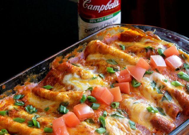 Easy Chicken and Cheese Enchiladas | Creole Contessa ...