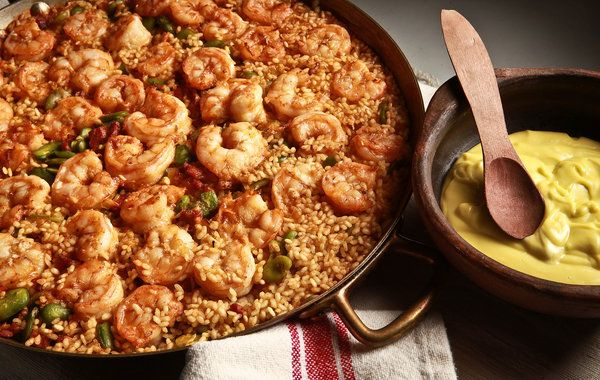 Less-Fuss Paella for Summer - NYTimes.com from David Tanis