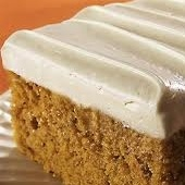 Pumpkin Spice cake w/ honey frosting | Cake | Pinterest