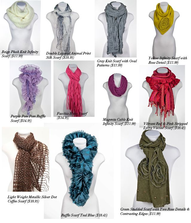 fashion scarves Fashion Scarf Ideas