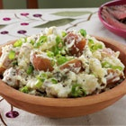 Rosemary Smashed Potatoes - use a super good olive oil. try trader joe ...