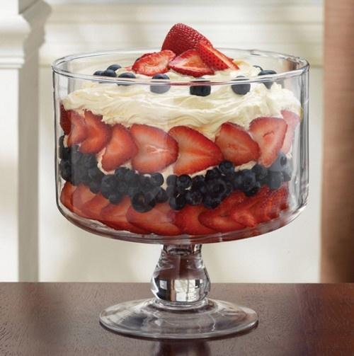 4th of july trifle bowl desserts