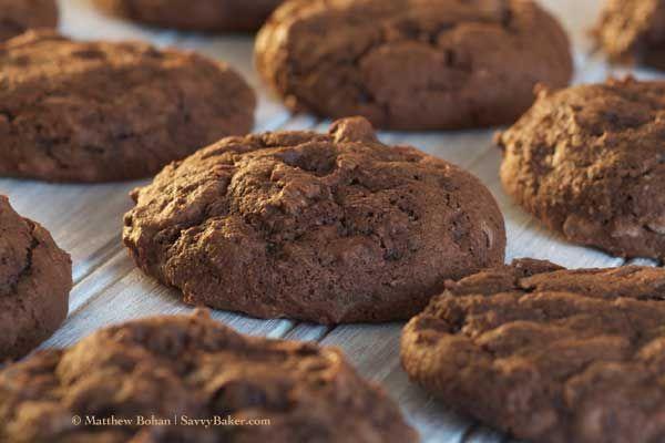 Triple Chocolate Chip Brownie Cookies | Food | Pinterest