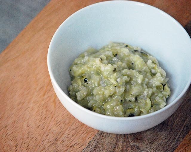 Zucchini Risotto | Mehans Kitchen | NomNom | Pinterest