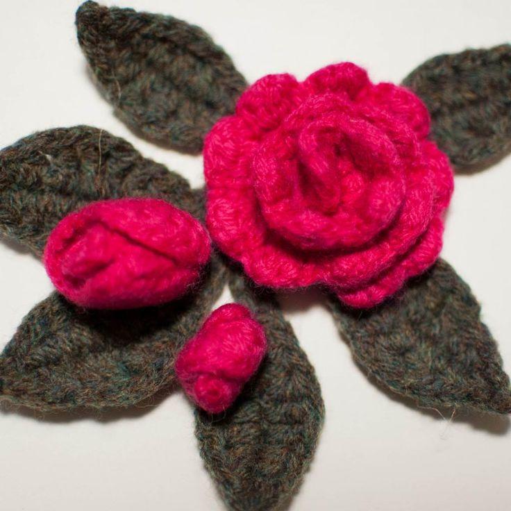 Free Crochet Rose Petal Pattern : Free Crochet Patterns