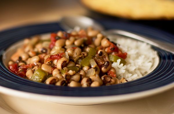 Bowl of Hoppin John | Gluten Free Fridays (recipes) | Pinterest