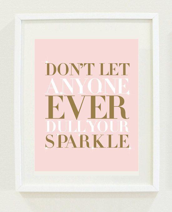 I will always sparkle
