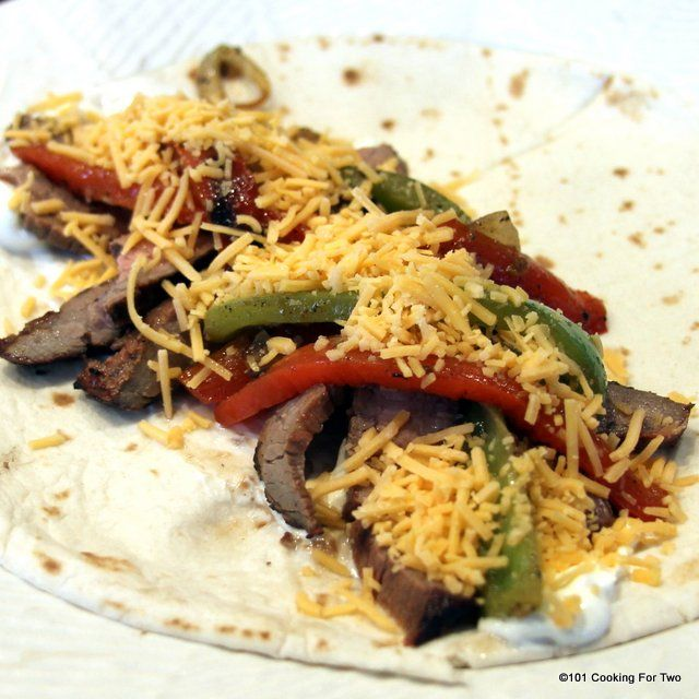 Grilled Flank Steak Fajitas - 101 Cooking For Two