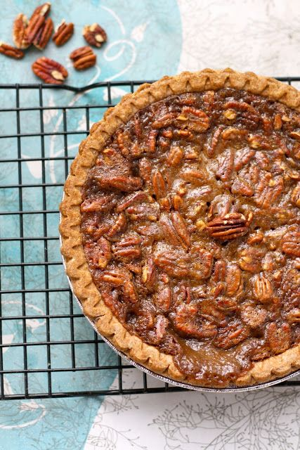maple pecan pie | vegan desserts | Pinterest