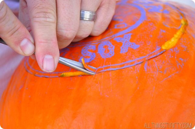 Pin by brooke ulrich on we create pinterest for Pumpkin sculpting tutorial