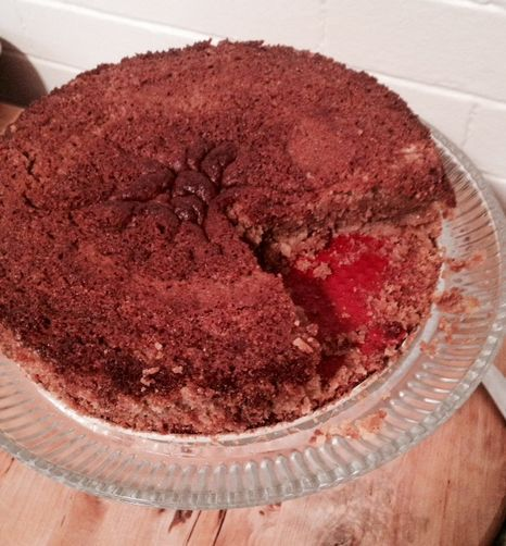 Chestnut Cake with Cornmeal Crust | Recipe