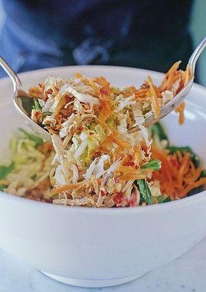 Vietnamese poached chicken salad | Sides & Salads | Pinterest